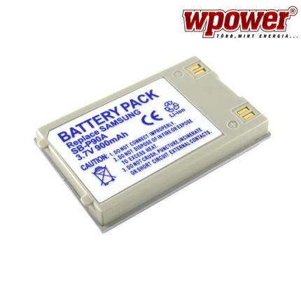 Samsung SB-P90A akkumulátor 900mAh, utángyártott