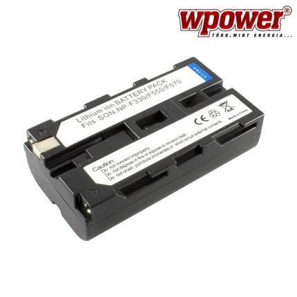 Sony NP-F550 akkumulátor 2400mAh, utángyártott