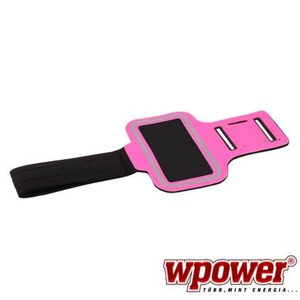 Apple iPhone 4/4S sport kartok, hot-pink