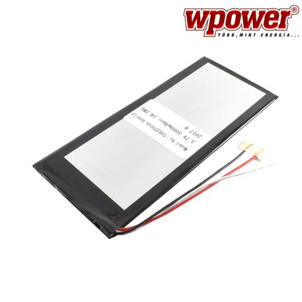 Univerzális Tablet PC akkumulátor 5000mAh