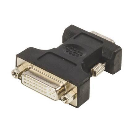 König VGA apa - DVI 24+5 tűs anya adapter
