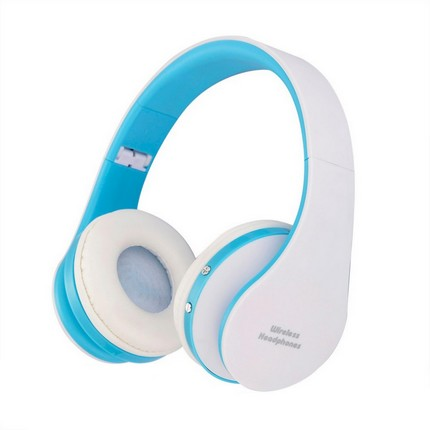 WPOWER K8252 Bluetooth fejhallgató, kék