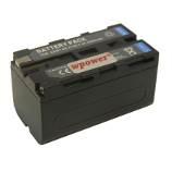 Sony NP-F550 akkumulátor 3000mAh, fekete