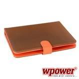 """WPOWER 8"""" Billentyűzetes Tablet tok, mintás, narancs, EN-HU"""