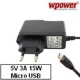 Univerzális 5V 3A Micro USB hálózati töltő