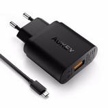 Aukey PA-U28 18W USB töltő+kábel