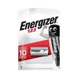 Energizer CR123A Lithium fotó elem 3V, 1500mAh