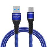 Enkay ENK-CB307 Micro USB 3A kábel 1.0m, kék
