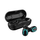 HQB-Q13S TWS sztereó Bluetooth headset és fülhallgató, fekete