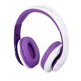 JKR-213B Extra Bass Bluetooth fejhallgató, lila-fehér