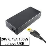 Lenovo ThinkPad T540p laptop töltő 135W, gyári