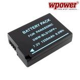 Panasonic DMW-BLD10PP akkumulátor 1250mAh, utángyártott
