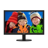 "Philips 243V5LHSB5/00 24"" FullHD LED monitor 1ms, HDMI, használt"