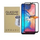 Samsung Galaxy A20 edzett üveg kijelzővédő fólia, fekete