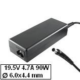 Sony Vaio VGN-FZ laptop töltő 90W, gyári