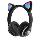 Macskafüles fejhallgató STN-28, fekete