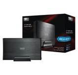"""Sweex 3.5"""" külső HDD ház USB3.0, SATA2, fekete"""