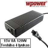 Toshiba Satellite A20 laptop töltő 120W, utángyártott